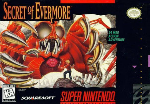 Secret of Evermore - Super Nintendo [USED]