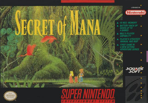 Secret of Mana 2 - Super Nintendo [USED]