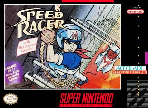 Speed Racer in My Most Dangerous Adventures - Super Nintendo [USED]