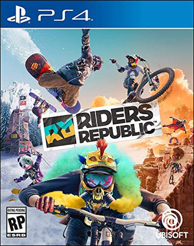 Riders Republic - PlayStation 4 Box Cover