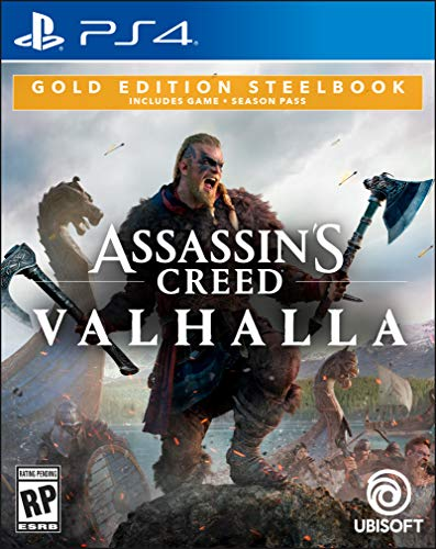 Assassin's Creed Valhalla - Gold Steelbook Edition - PlayStation 4