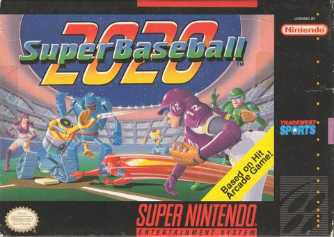 2020 Super Baseball - Super Nintendo [USED]