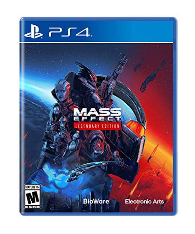 Mass Effect Legendary Edition - PlayStation 4 Box Cover