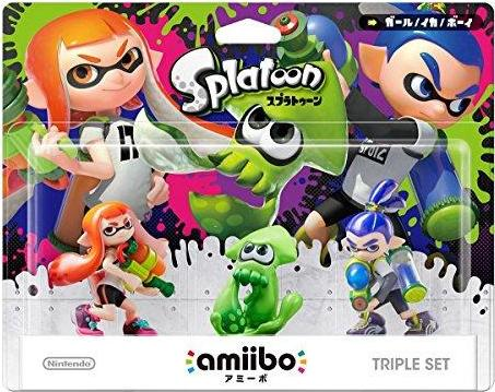 Splatoon 3-pack (Splatoon Series) Amiibo