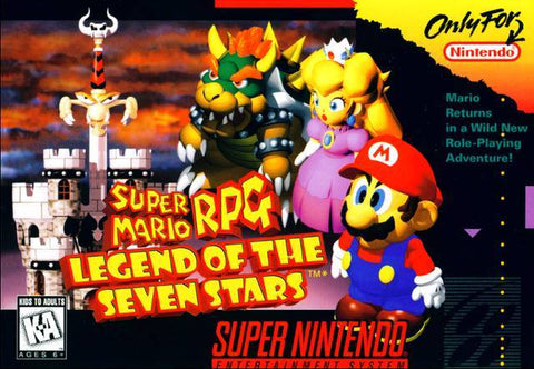 Super Mario RPG: Legend of the Seven Stars - Super Nintendo [USED]