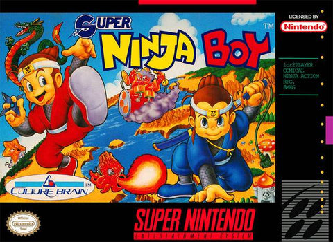 Super Ninja Boy - Super Nintendo [USED]