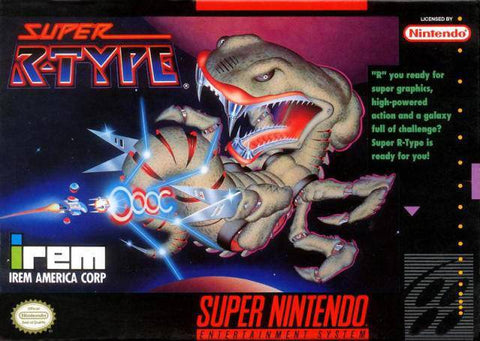 Super R-Type - Super Nintendo [USED]
