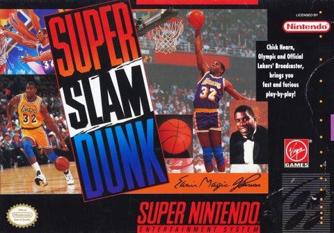 Super Slam Dunk - Super Nintendo [USED]