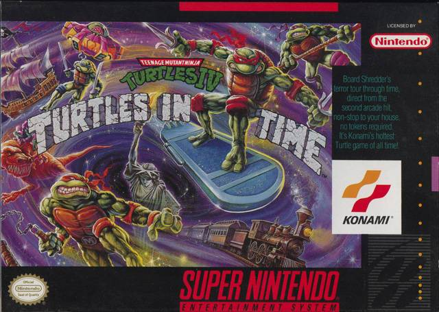 Teenage Mutant Ninja Turtles IV: Turtles in Time - Super Nintendo [USED]