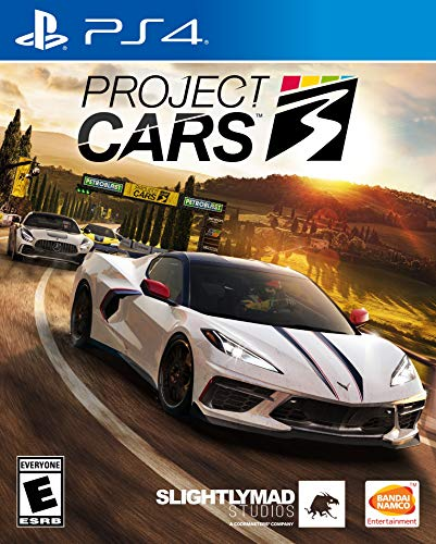 Project CARS 3 - PlayStation 4 Front Cover