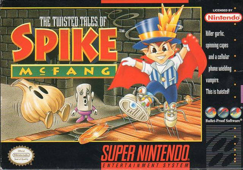 The Twisted Tales of Spike McFang - Super Nintendo [USED]
