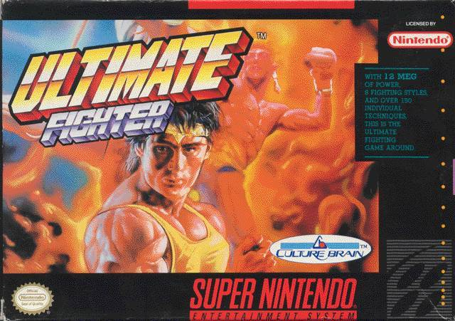 Ultimate Fighter - Super Nintendo [USED]
