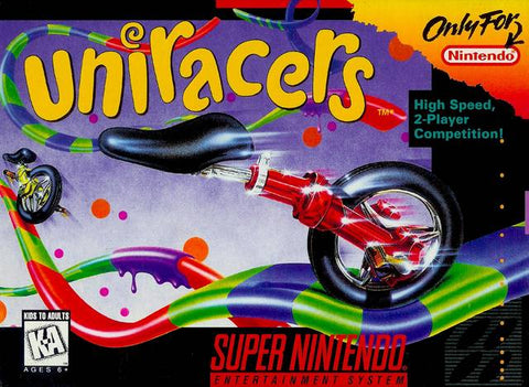 Uniracers - Super Nintendo [USED]