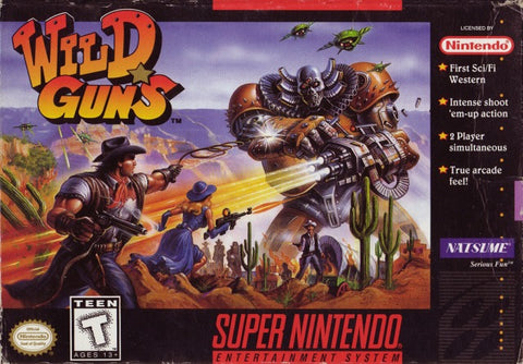 Wild Guns - Super Nintendo [USED]