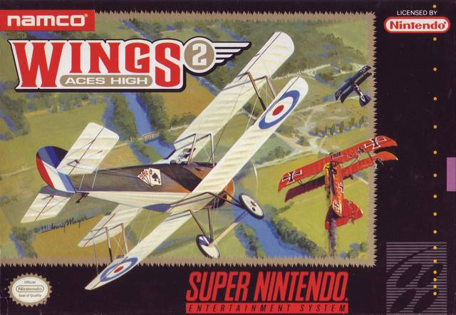 Wings 2: Aces High - Super Nintendo [USED]
