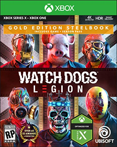 Watch Dogs Legion Gold Steelbook Edition - Xbox One - Xbox Series X