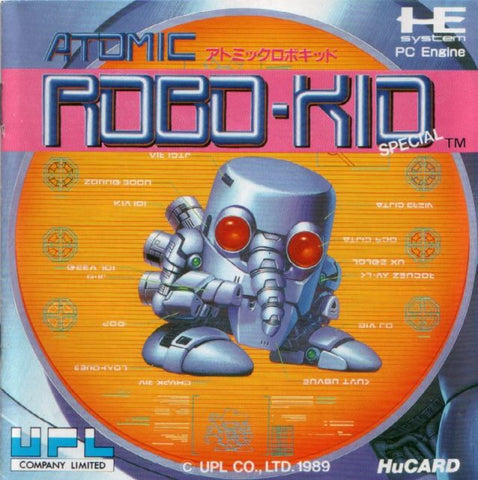 Atomic Robo-Kid Special - TurboGrafx-16 (Japan)