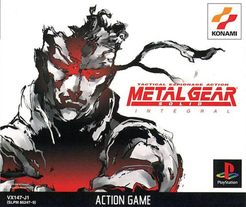 Metal Gear Solid Integral - PlayStation (Japan)