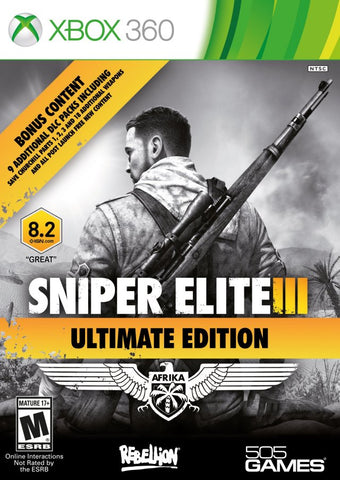 Sniper Elite III (Ultimate Edition) - Xbox 360