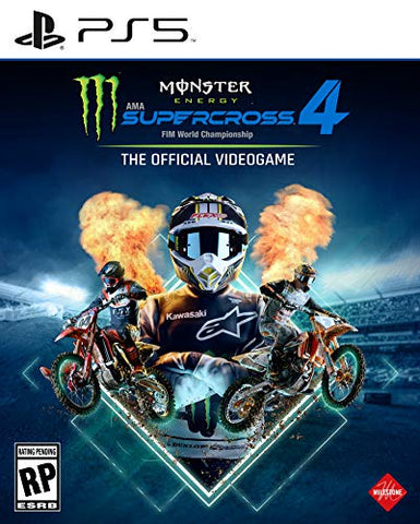 Monster Energy Supercross 4 - PlayStation 5