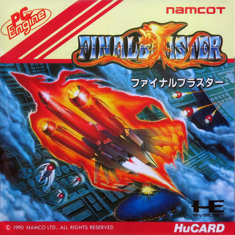 Final Blaster - TurboGrafx-16 (Japan)