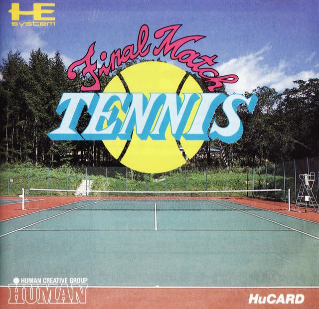 Final Match Tennis - TurboGrafx-16 (Japan)