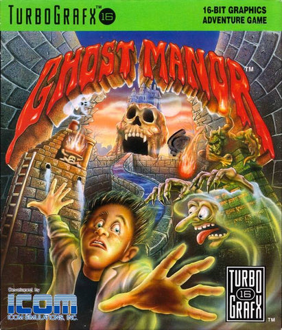 Ghost Manor - TurboGrafx-16
