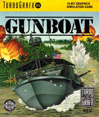 Gunboat - TurboGrafx-16