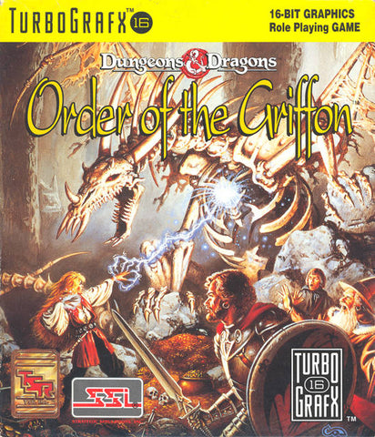 Dungeons & Dragons: Order of the Griffon - TurboGrafx-16