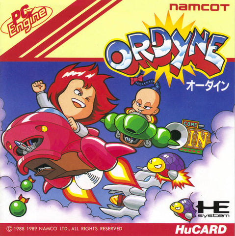 Ordyne - TurboGrafx-16 (Japan)
