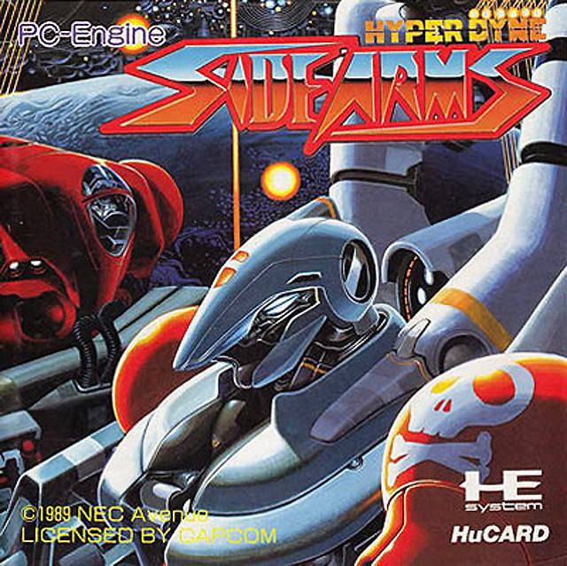 Hyper Dyne Side Arms - TurboGrafx-16 (Japan)