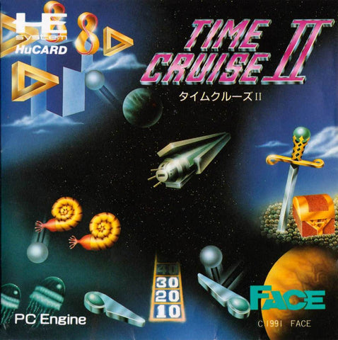 Time Cruise II - TurboGrafx-16 (Japan)