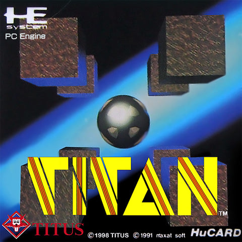 Titan - TurboGrafx-16 (Japan)