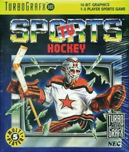 TV Sports Hockey - TurboGrafx-16
