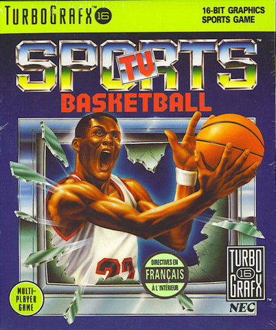 TV Sports Basketball - TurboGrafx-16