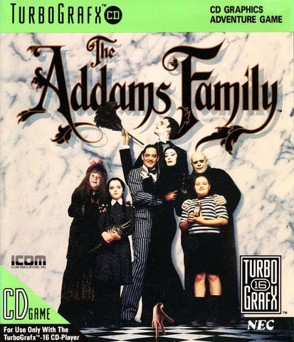 The Addams Family - Turbo CD