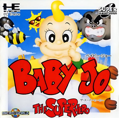 Baby Jo: The Super Hero - Turbo CD (Japan)