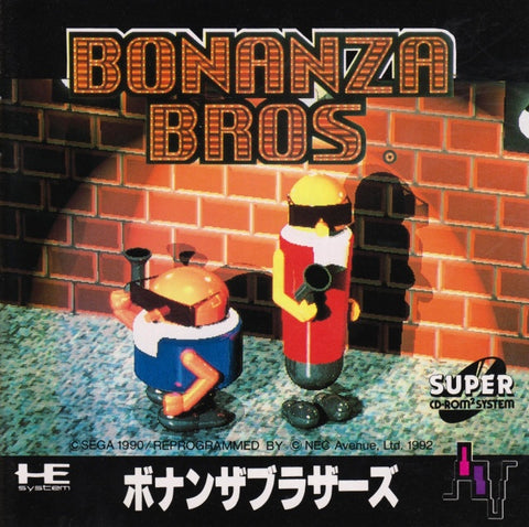 Bonanza Bros. - Turbo CD (Japan)