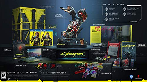 Cyberpunk 2077: Collector's Edition - PlayStation 4 [NEW]