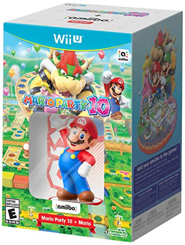 Mario Party 10 + Mario™ Amiibo Bundle - Wii U