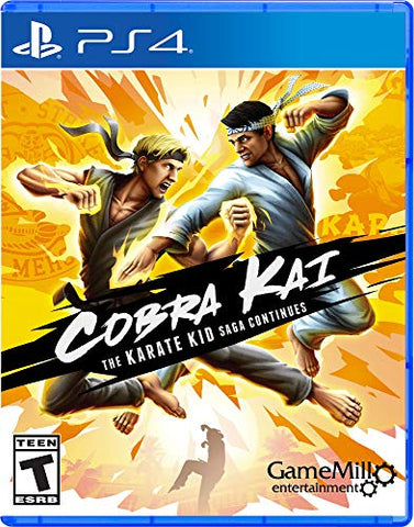 Cobra Kai: Karate Kid Saga - PS4 - PlayStation 4
