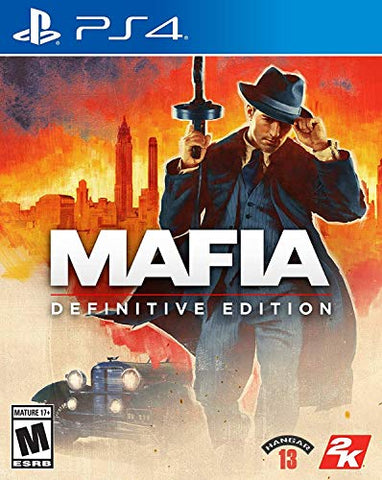 Mafia Definitive Edition - PlayStation 4 Box Cover