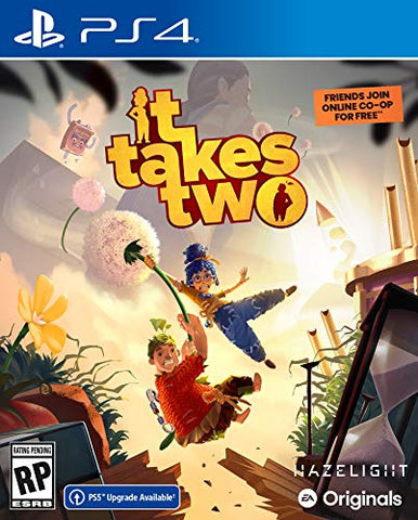 It Takes Two - PlayStation 4 Box Cover