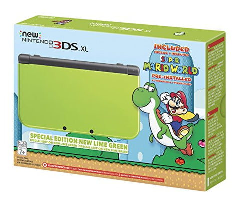 Nintendo New 3DS XL - Lime Green Special Edition