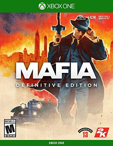Mafia Definitive Edition - Xbox One Box Cover