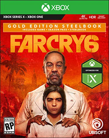 Farcry 6 Xbox Series X Gold Edition Steelbook Box Cover
