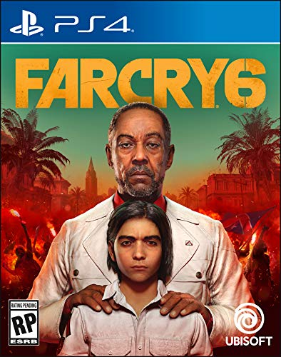 Farcry 6 PlayStation 4 Box Cover