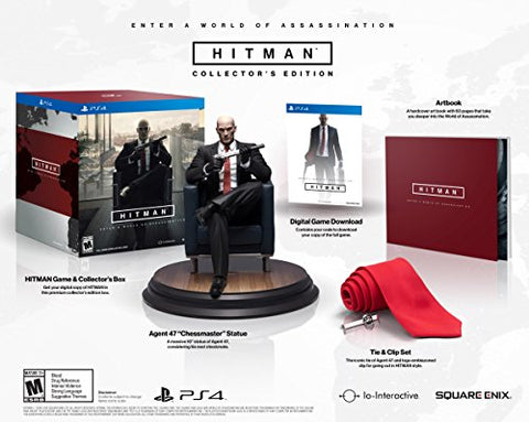 Hitman Collector's Edition - PlayStation 4 [NEW]