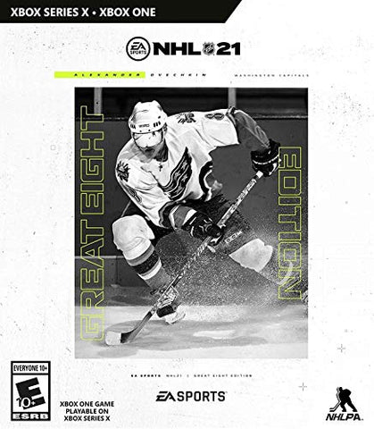 NHL 21 Ultimate Edition - Xbox One Box Cover