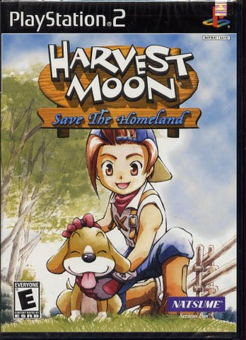 Harvest Moon: Save the Homeland - Playstation 2